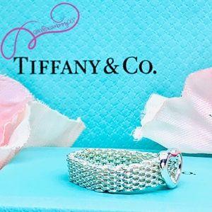 Tiffany & Co. Jewelry - NWOT Tiffany & Co. Somerset Heart Mesh Ring, Sz. 7